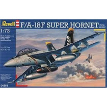 Modelo Plane - Revell 1:72 F A-18f Super Hornet Gêmeo Seater