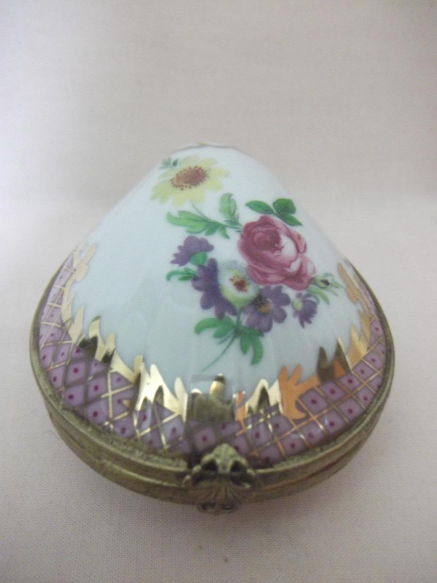 B antigo caixa porta j ias em porcelana italiana r for Porcelana italiana