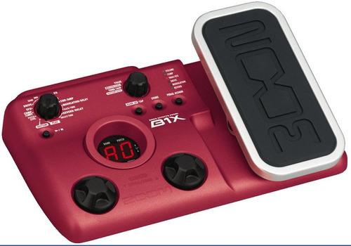 B1x Pedaleira Zoom B 1x P/ Baixo C/ Pedal De Expressão B1 X