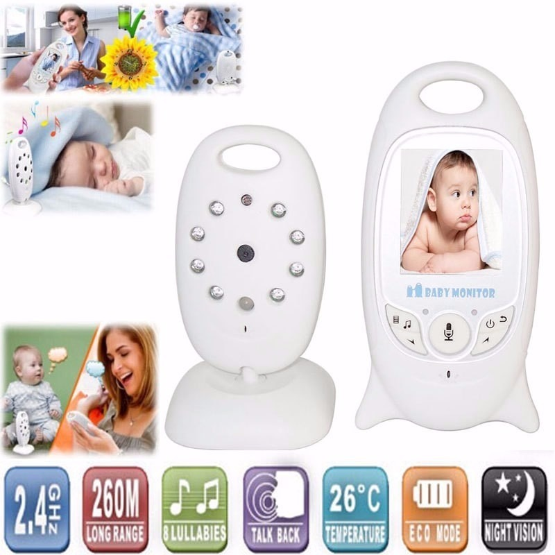 bab eletr nica baby monitor digital beb vis o noturna r 339 99 no mercadolivre. Black Bedroom Furniture Sets. Home Design Ideas