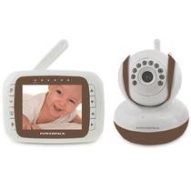 Baba Eletronica Câmera Sem Fio 2.4g Com Visão Noturna Lcd