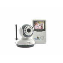 Babá Eletronica Câmera 82 Sem Fio 2.4g Com Visão Noturna Lcd