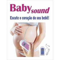 Monitor Fetal Doppler Garantia 1 Ano - Babysound B Original!
