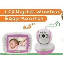 Babá Eletrônica Digibaby Monitor Sem Fio 3.5 Bivolt - Rosa