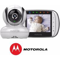 Babá Eletrônica Motorola Mbp 36s Tela 3.5 Visão Noturna