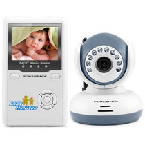 Babá Eletrônica Câmera Sem Fio 2.4g +visão Noturna +mic Bebê