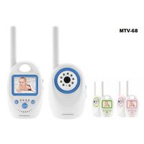 Baba Eletrônica M68 Com Monitor S/fio Converse Com Seu Bebe!