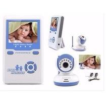 Babá Eletrônica Câmera Mtv-82 Rosa Visão Noturna + Mic Bebê