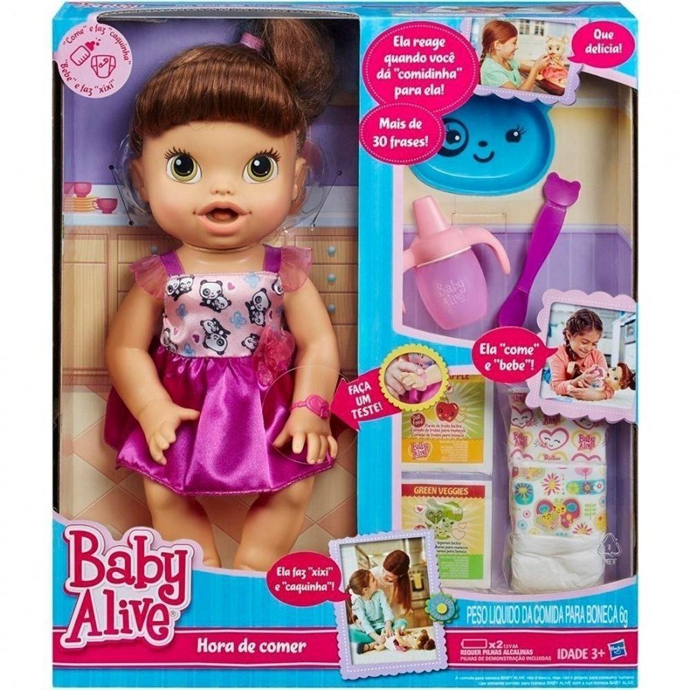 Baby Alive Hora De Comer Hasbro Super Promo 231 227 O R 275