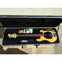 Contra Baixo Music Man Stingray 4 Cordas C/ Case (impecável)