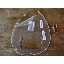 Escudo Music Man Sterling 4 Cordas Transparente 9 Furos