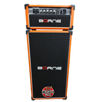 Cabeçote E Caixa Borne Pro 200 P/ Baixo Profissional Orange