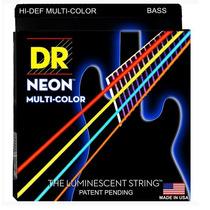 Cordas Baixo Dr Strings Coloridas Neon Nmcb-45 Rocksmith