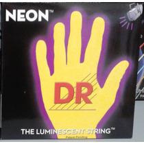 Cordas Dr Neon Amarelo 0.45/105 Contrabaixo 4 Cordas