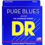 Cordas De Baixo 5 Cordas Dr Pure Blues 0.45/125 - Pb5-45