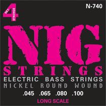 Encordoamento Nig Baixo 4 Cordas 0.45 N-740