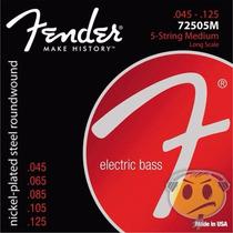 Encordoamento Baixo 5 Cordas Fender 7250m 045 Frete R$9,00