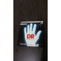 Encordoamento Dr Strings Neon White Para Baixo 6 Cordas