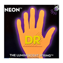 Encordoamento Baixo 4 Cordas 0.40/100 - Dr Neon Laranja