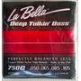 Encordoamento Baixo 4 La Bella 750c 050 Cooper Nylon