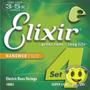 Encordoamento Elixir Contra Baixo 4 Cordas 040 O F E R T A