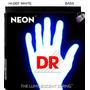 Cordas De Contrabaixo 6 Cordas Dr Neon Branca Nwb6-30