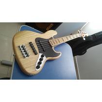 Fender Jazz Bass American Deluxe V / 2012 / Soft Bag.