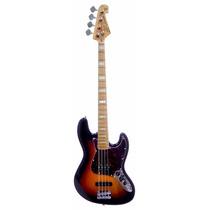 Baixo Sx Sjb75 Modelo Fender Jazz Bass 75 Em Ash