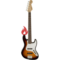 Squier Affinity Jazz Bass V 5 Cordas . Sunburst . Bsb . Loja