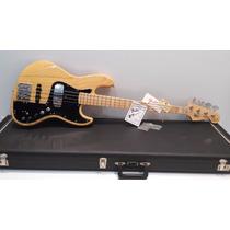 Baixo Fender Marcus Miller Impecável Japonês + Case Fender