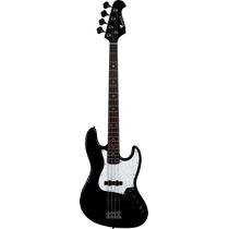 Ritmus : Eagle Sjb005 Contra Baixo 4 Cordas Jazz Bass Preto