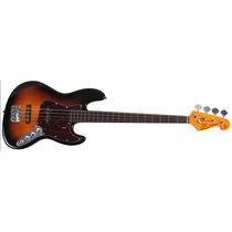 Baixo Sx Sjb 62 Ftor Jazz Bass Freteless Sunburst - Bx0046