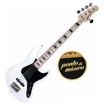 Contra Baixo Jazz Bass Tagima Tjb5 5 Cordas Garantia + Nf