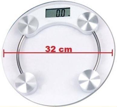 Balança Digital De Vidro Temperado Até 150kg