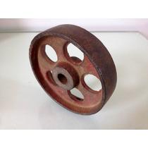Antiga E Raríssima Roda De Ferro Para Balanças