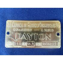 M151 Emblema Balança Antiga Dayton Chapinha Insignia .