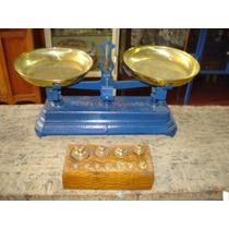 Balança Antiga Force Para 1/2 (meio) Kg Caixa Peso Completa