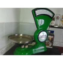 Balança Antiga Decoração Retro Custom Luminoso Heineken Leds