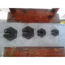 Pesos Multip. De Balanças Antigas-, 500, 500,200 E 100 G