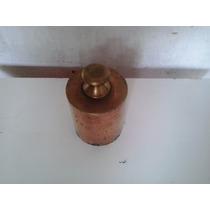 Peso De Balanças Antigas De Bronze - 5 Quilos