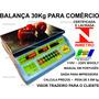 Inmetro Balança Eletrônica Digital 30kg Nacional Bivolt
