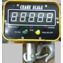 Balança Suspensa Digital Gancho 1000 Kg - C Controle Remoto