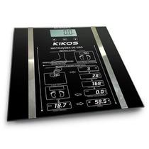 Balança Digital Portátil Gordura Corporal Até 150 Kg Preta