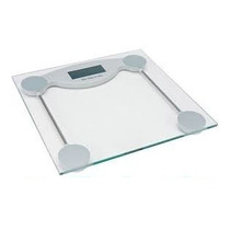 Balança De Precisão Digital 150kg Vidro Temperado Banheiro