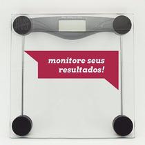 Balança Digital Banheiro Academia Peso Até 180 Kg Frete Free