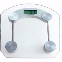 Balança Digital Eletrônica Vidro Até 180kg Banheiro Academia