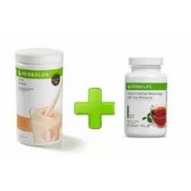 Shake Vários Sabores + Chá Verde Herbalife