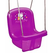Brinquedo Balanço Hello Kitty Baby Com Corda Infantil