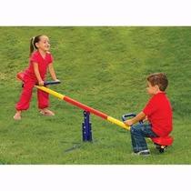 Brinquedo Gangorra Dupla Infantil Criança Parque Gira 360°