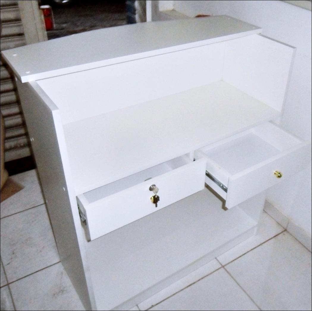 Balcão Caixa De Madeira R$ 480 00 no MercadoLivre #2C221D 1049x1047